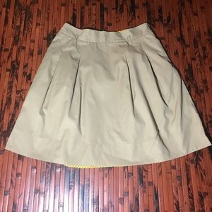 Anthropologie Odille A lube Skirt Size 12